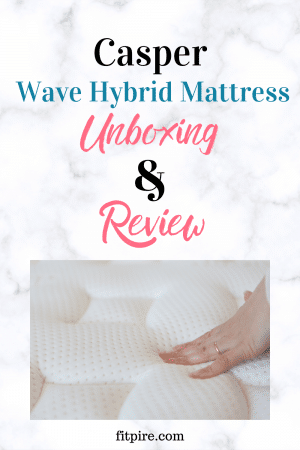 Casper Wave Hybrid Mattress Unboxing