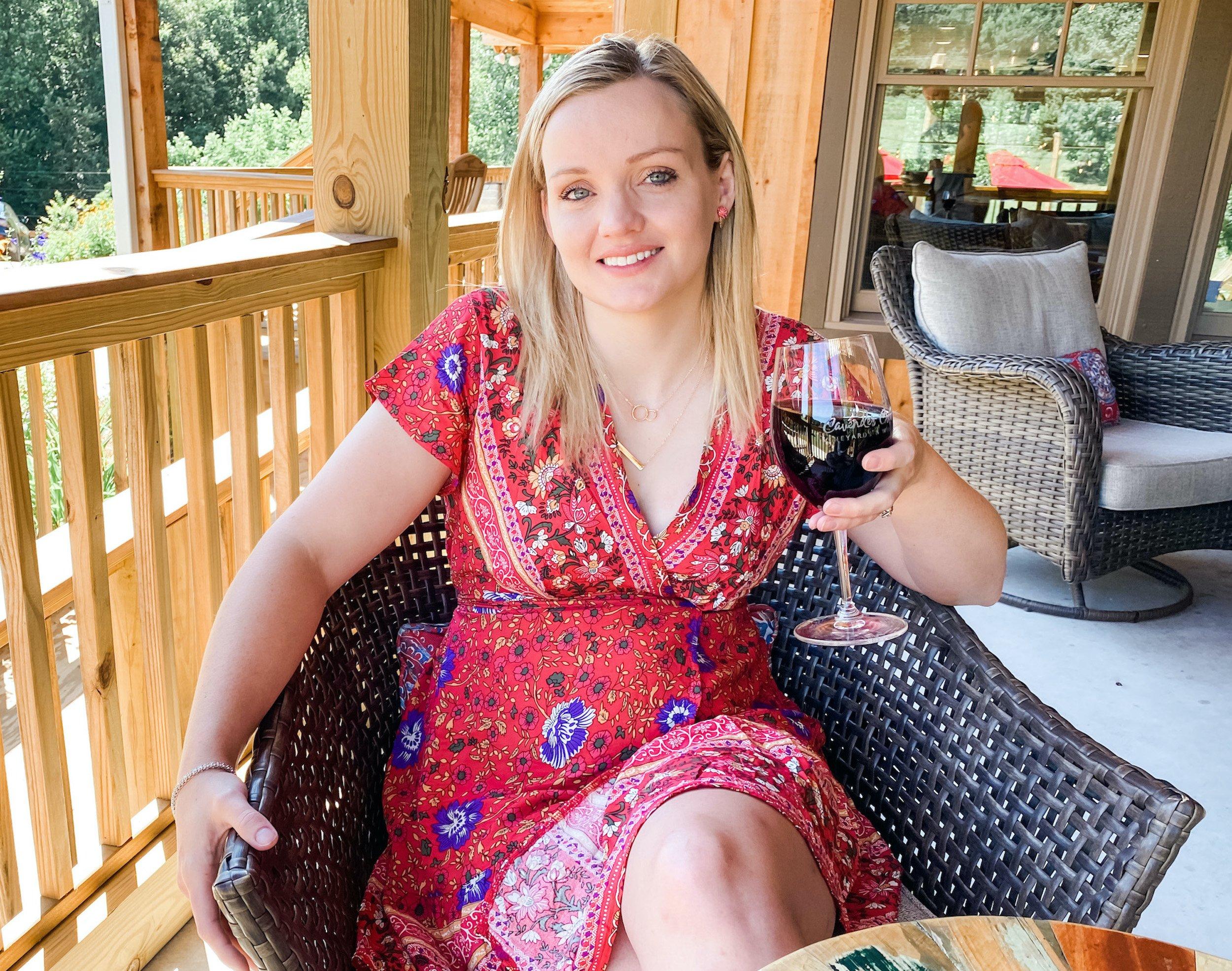 Wine Time in Dahlonega, GA